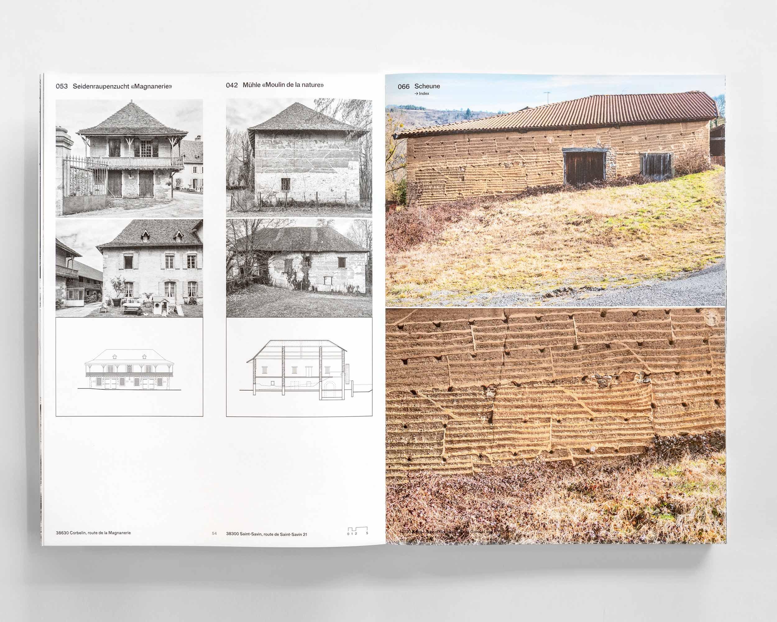 """Photograph des Buches """"Pisé - Stampflehm""""  485/11"""