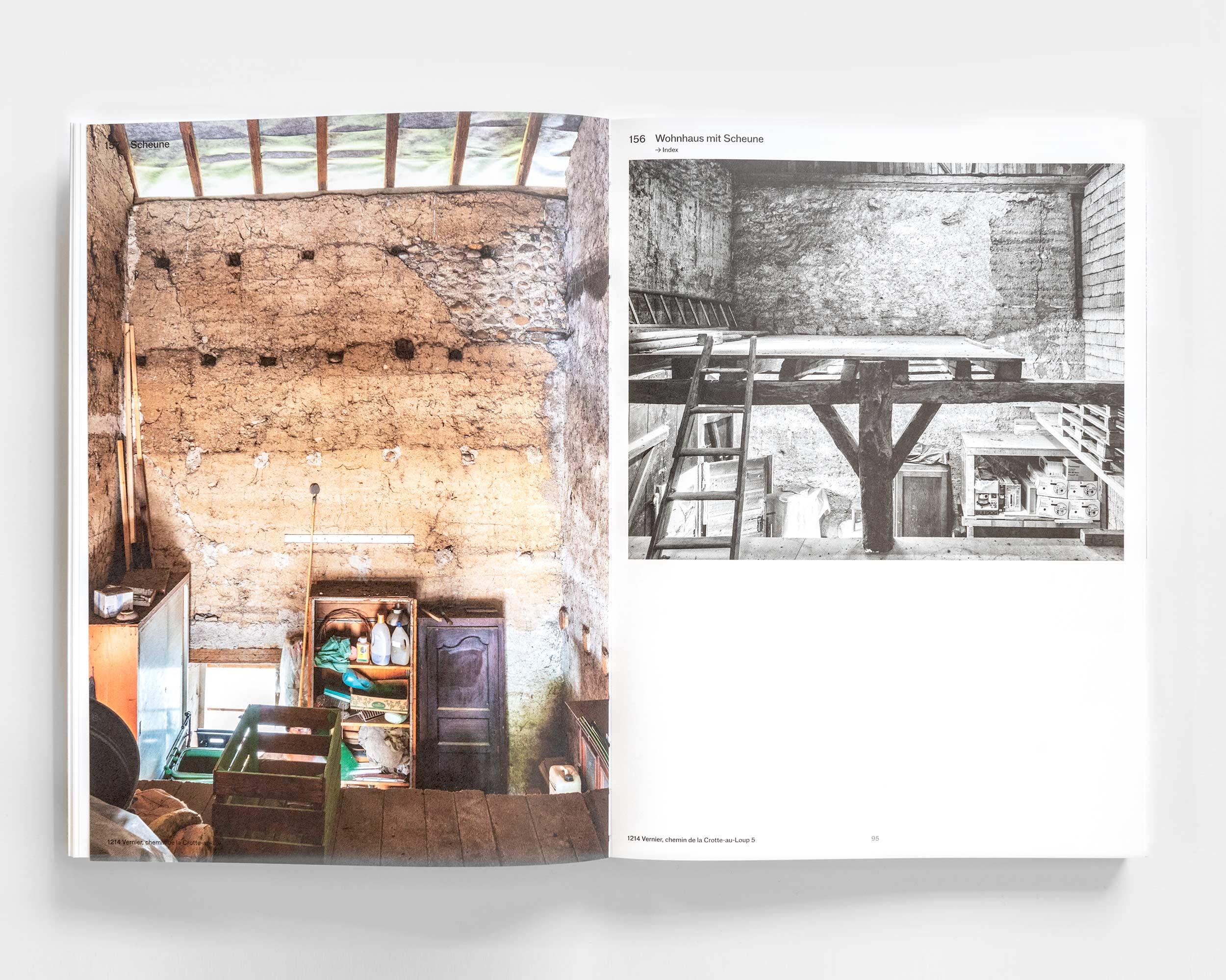 """Photograph des Buches """"Pisé - Stampflehm""""  490/11"""