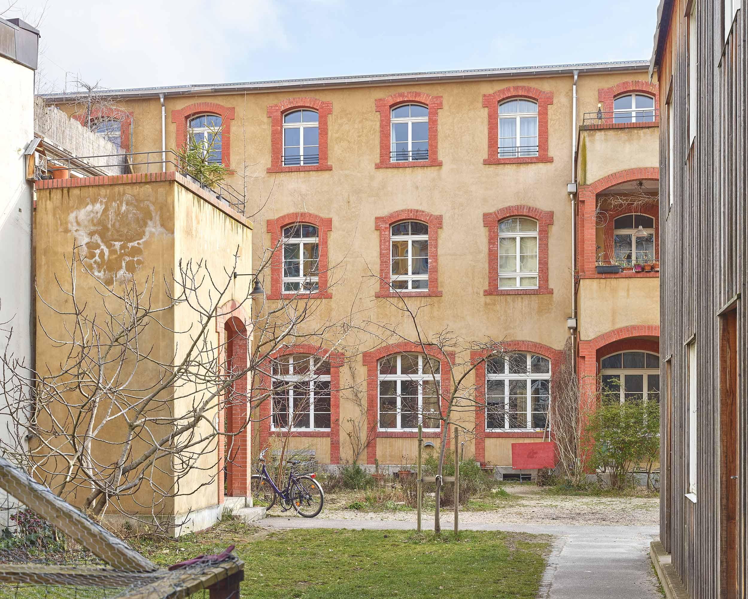 Fabrikumbau Oetlingerstrasse  324/4
