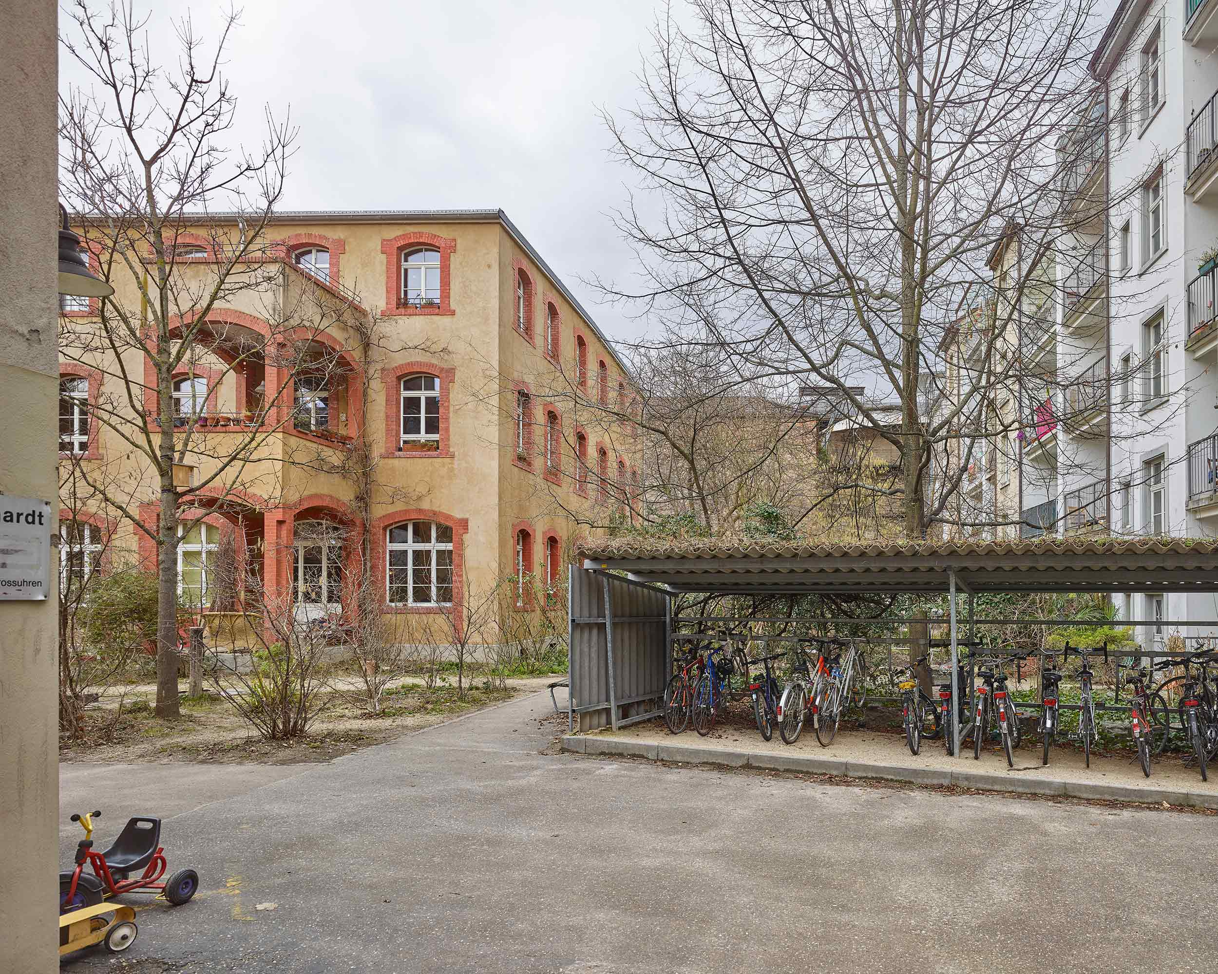 Fabrikumbau Oetlingerstrasse  321/4