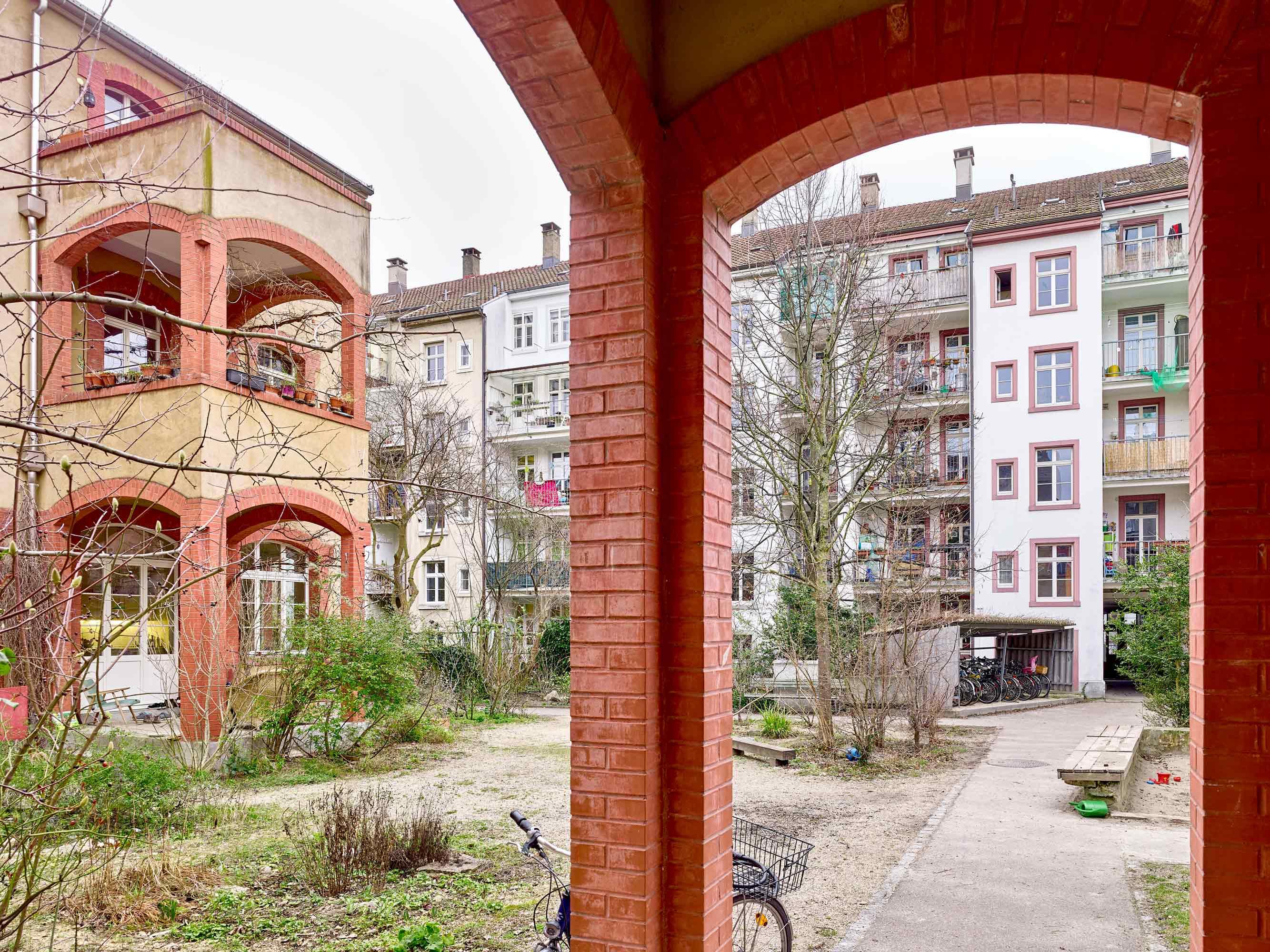 Fabrikumbau Oetlingerstrasse  493/5