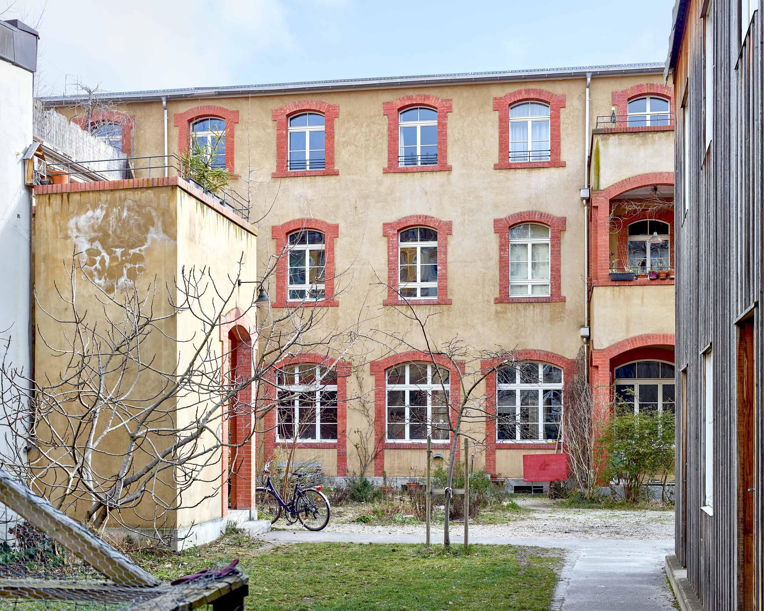 Fabrikumbau Oetlingerstrasse  324/5