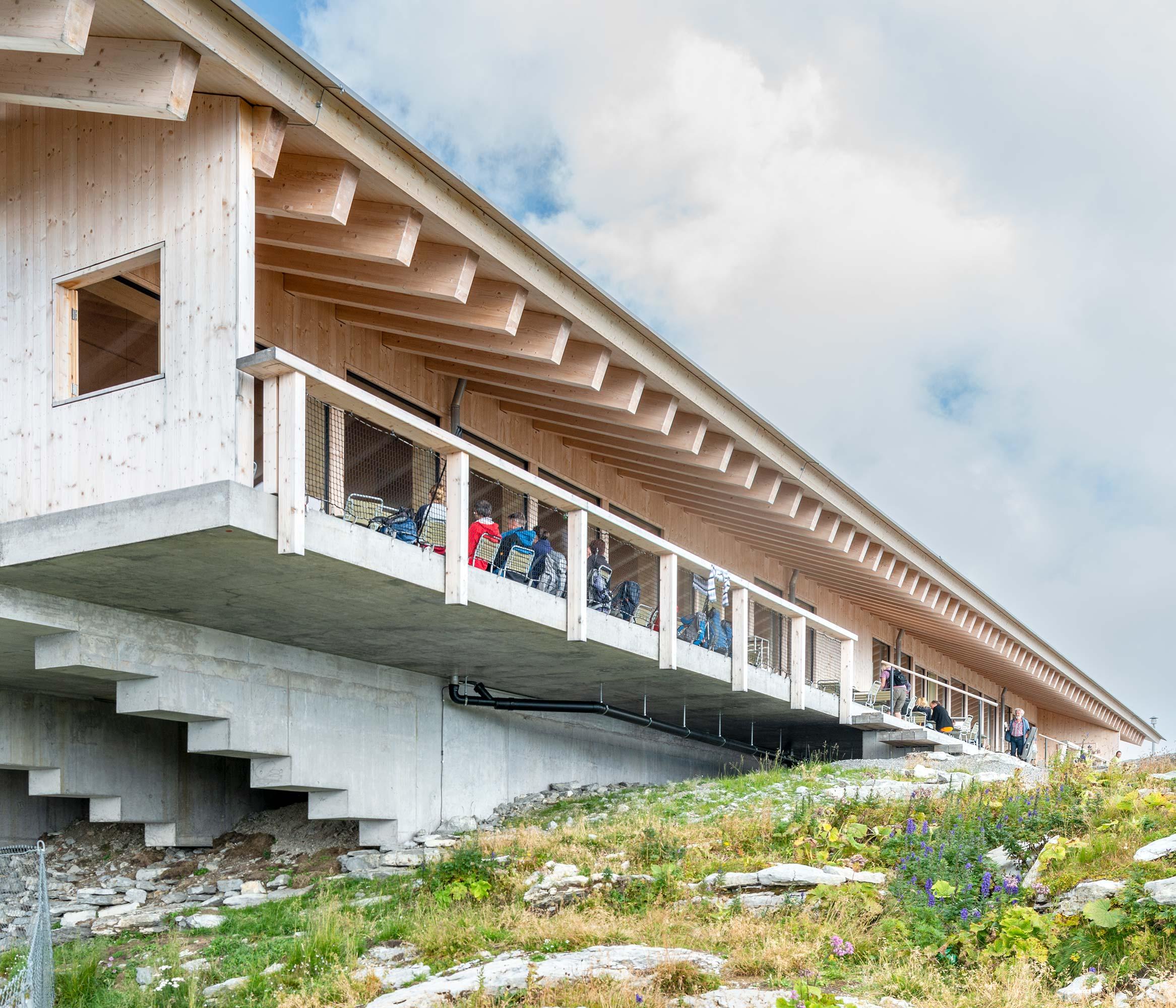 Bergstation Chäserrugg  6/14