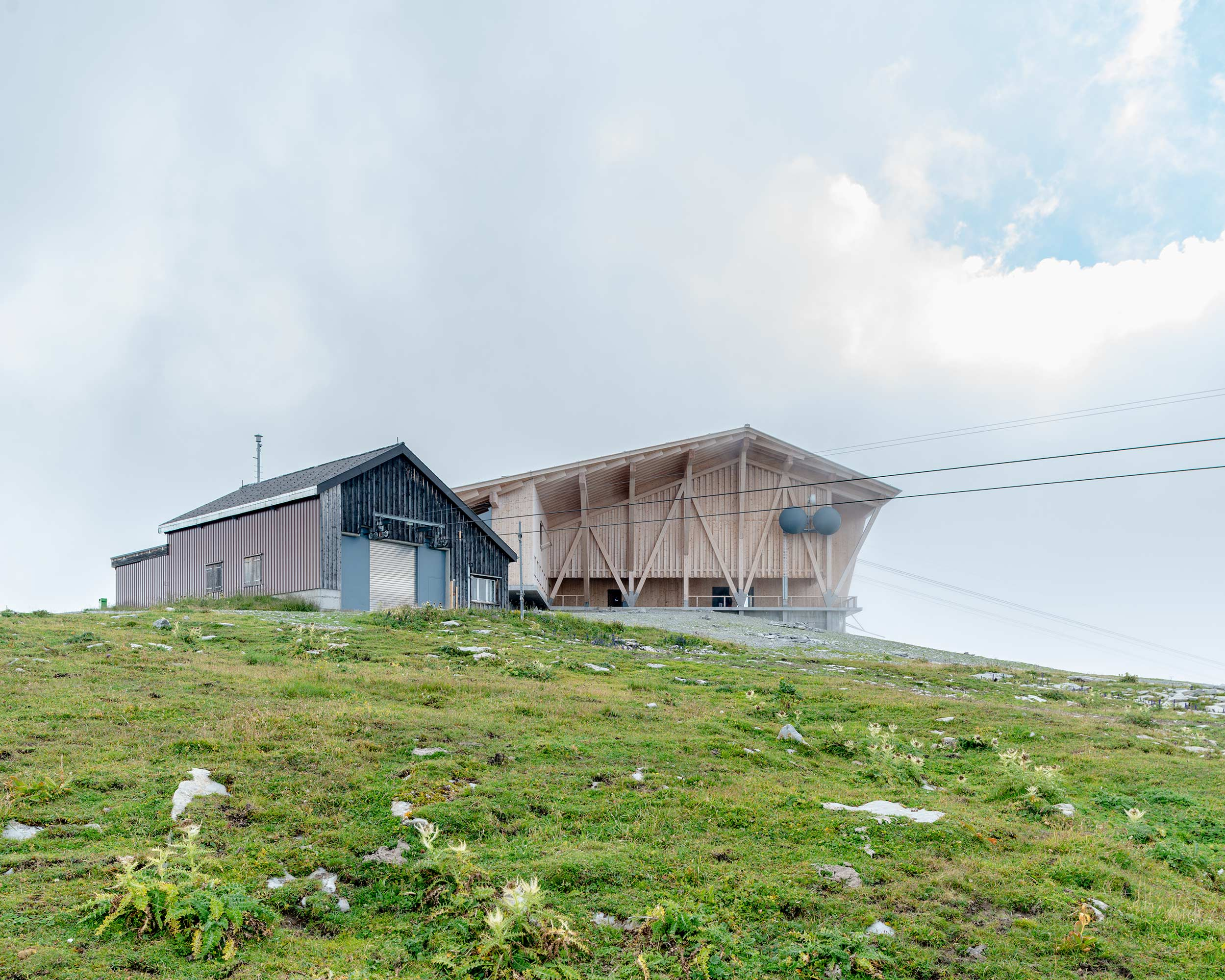 Bergstation Chäserrugg  2/14