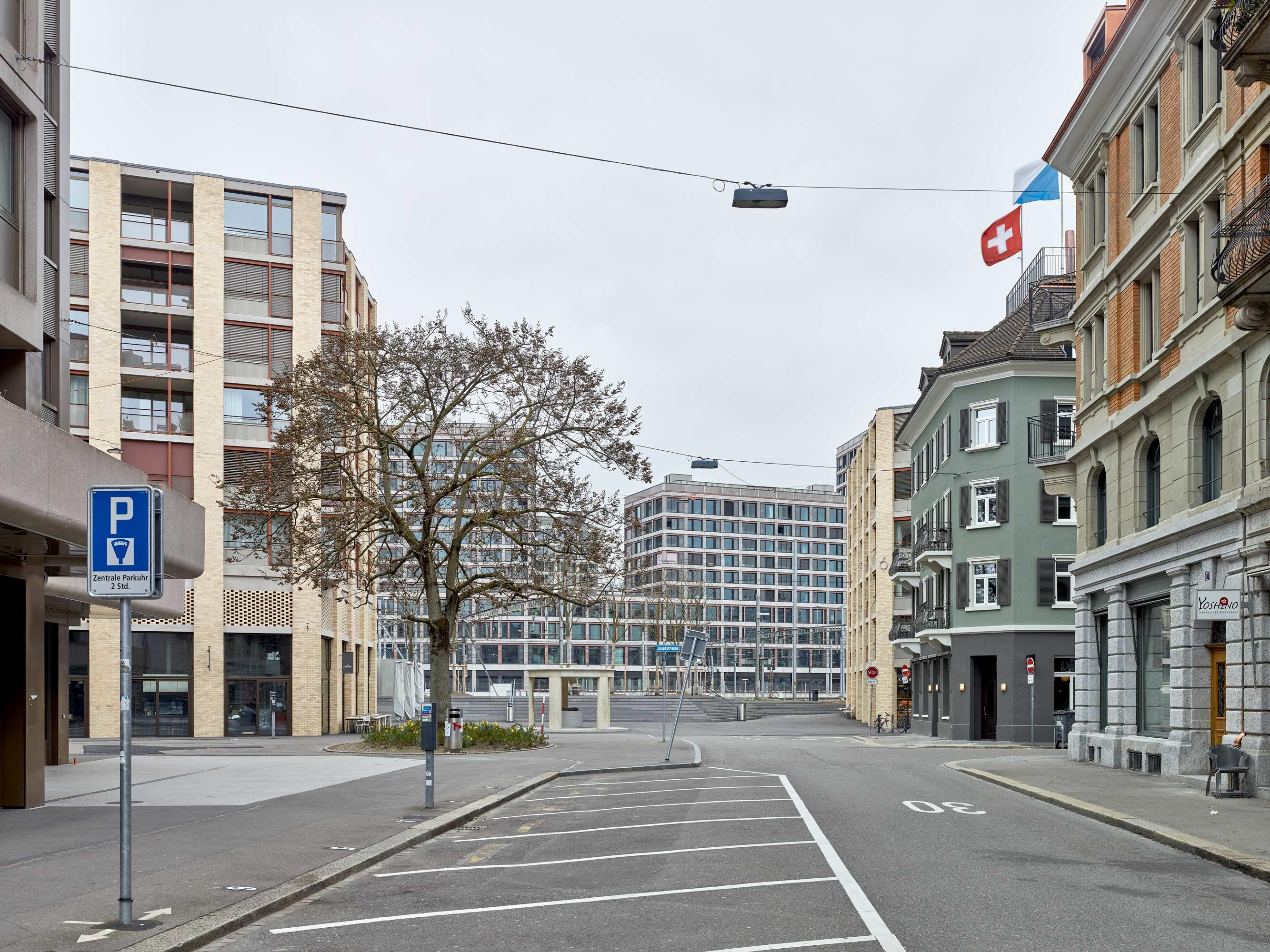 Europaallee Zürich - aussen  2/8