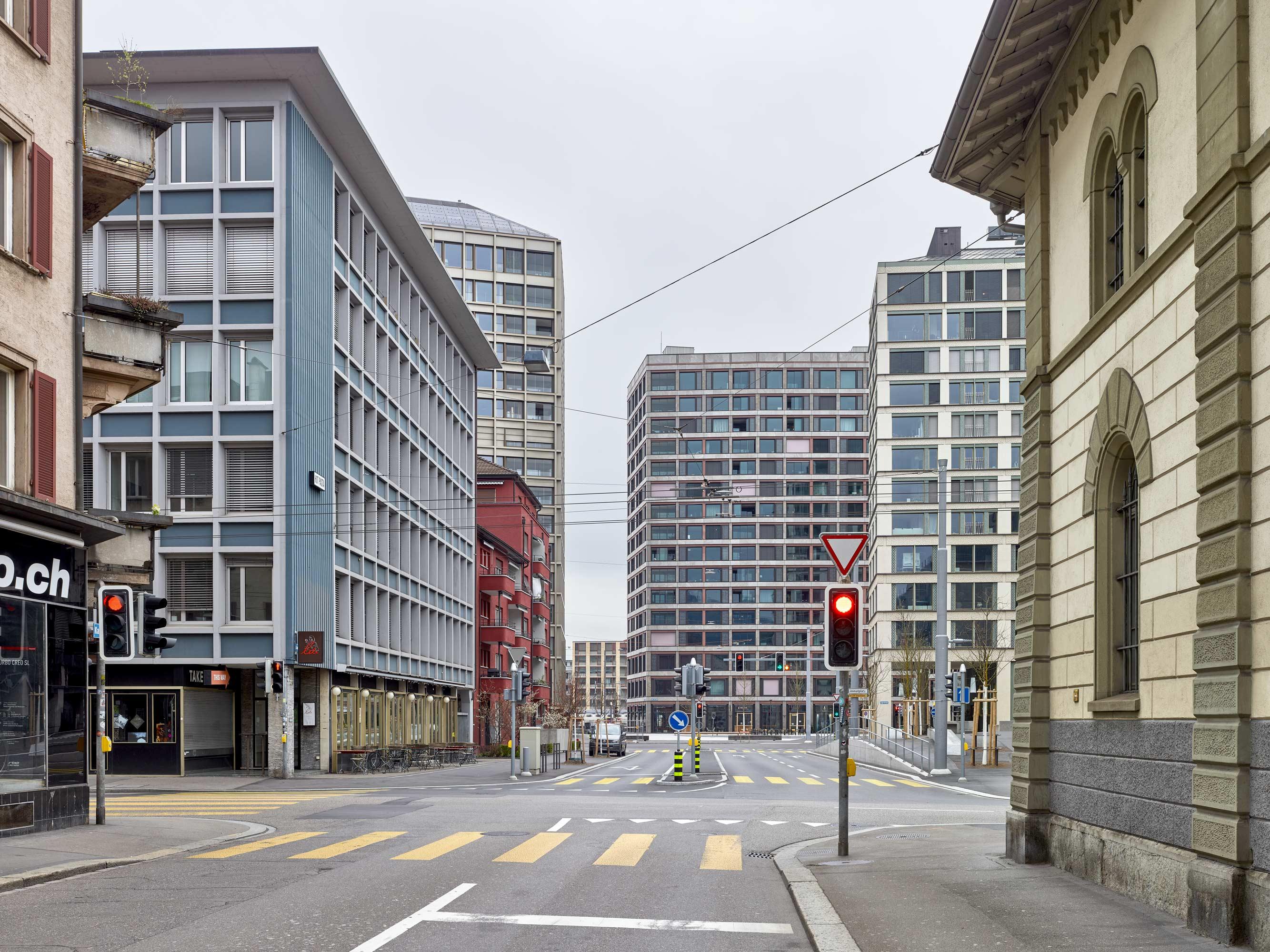 Europaallee Zürich - aussen  6/8