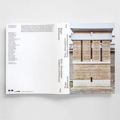 """Photograph des Buches """"Pisé – Stampflehm"""""""