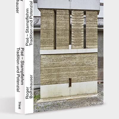 """Photograph des Buches """"Pisé - Stampflehm"""""""